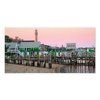 Wharf de capitán Jack - Provincetown, mA Arte Fotografico