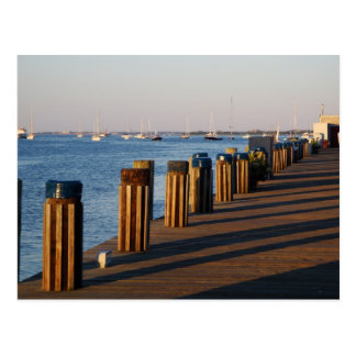 Wharf, Nantucket Harbor Post Card