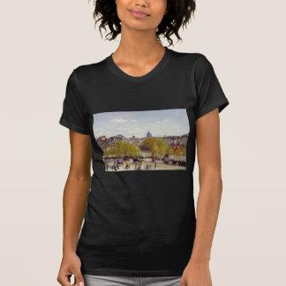 Wharf of Louvre, Paris by Claude Monet T-Shirt
