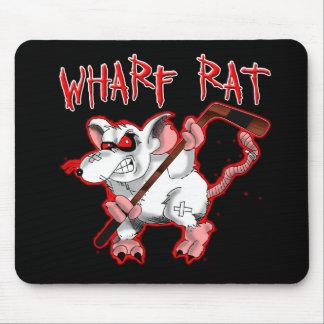 Wharf Rat Cartoon Mascot Mouse Pad