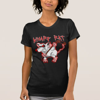 Wharf Rat Cartoon Mascot T-Shirt