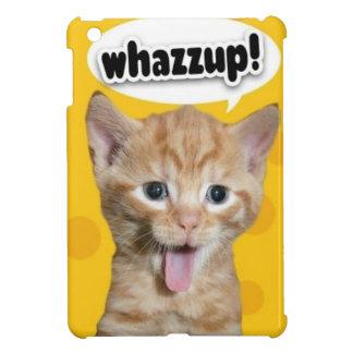 whasup Cat iPad Mini Covers