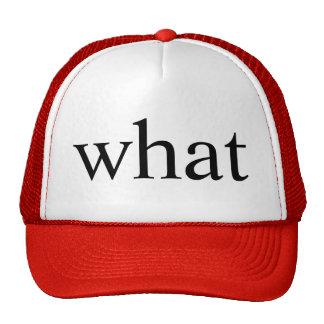 what trucker hat