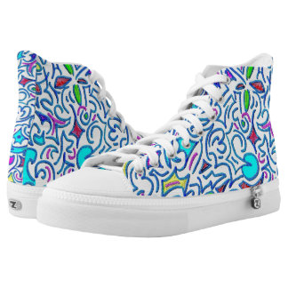What 1b Abstract Printed Shoes