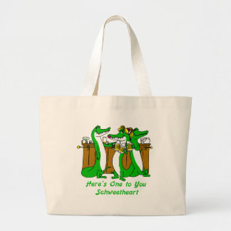 What a Croc Large Tote Bag
