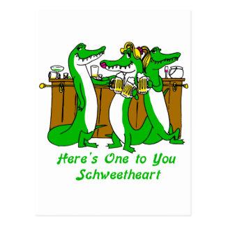 What a Croc Postcard