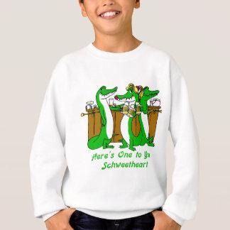 What a Croc Sweatshirt
