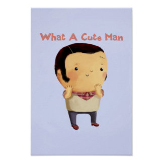 What a Cute Man... Poster