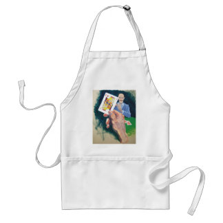 What a dirty trick adult apron