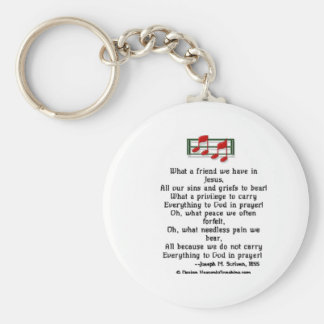 What a Friend we have in Jesus Keychain