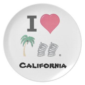 What a fun plate for the Palm Springs lover.
