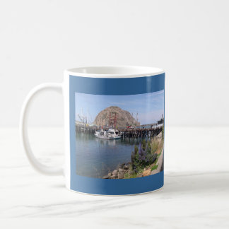 What a Great Day at Morro Bay Classic White Coffee Mug
