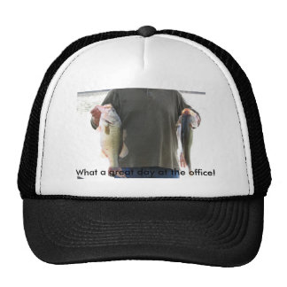 What a great day at the office hat