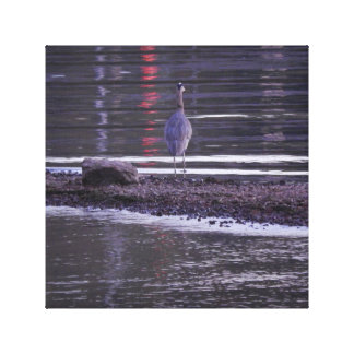 What a Heron Sees Canvas Print