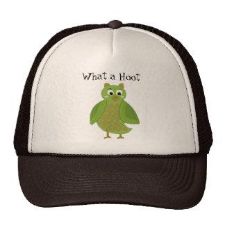 What a Hoot - Green Owl Trucker Hat