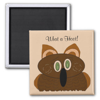 What a Hoot! -magnet Magnet