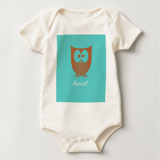What a Hoot!  Owl Case Baby Bodysuit