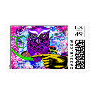 What A hoot! Postage Stamps