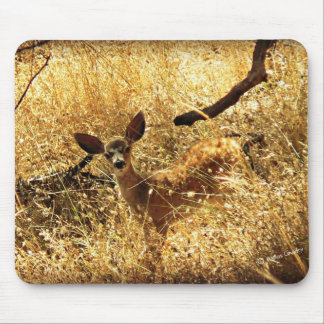 """""""What a Little Doll"""" Fawn Mouse Pad"""