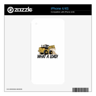 What A Load iPhone 4S Skins