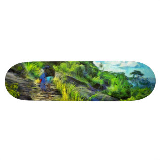 What a lovely trek skateboard