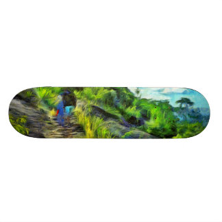 What a lovely trek skateboard deck