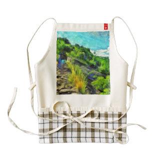 What a lovely trek zazzle HEART apron