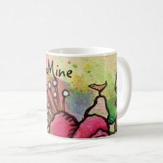"""""""What a lucky bird I am"""" Mug"""