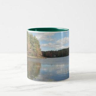 What A Nice Day Two-Tone Coffee Mug