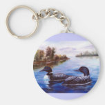 What A Pair Loon Keychain