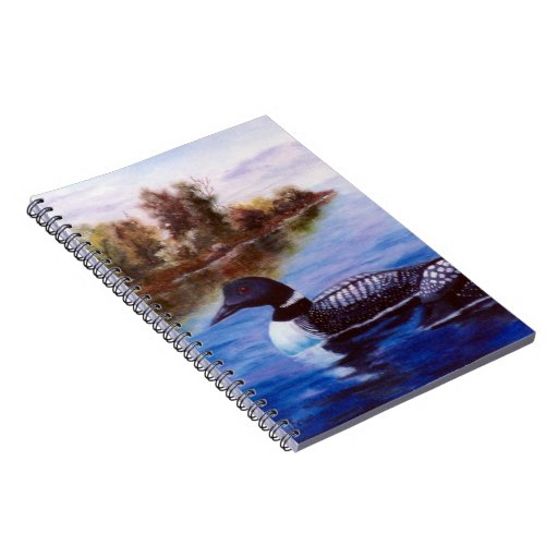 What a Pair Loon Notebook