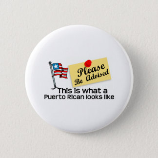 what a puerto rican look like button