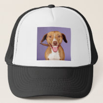 What a smile! trucker hat