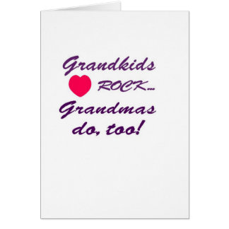 What a special bond between Grandma and Grandkids! Card