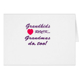 What a special bond between Grandma and Grandkids! Greeting Card