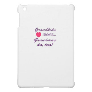 What a special bond between Grandma and Grandkids! iPad Mini Covers