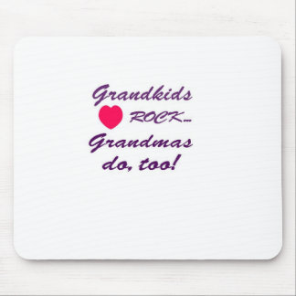 What a special bond between Grandma and Grandkids! Mouse Pad