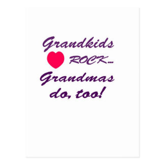 What a special bond between Grandma and Grandkids! Postcard