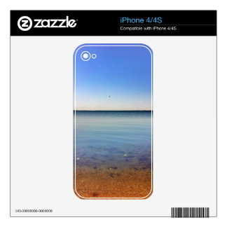 What A View Land, Water, Sky iPhone 4 Skin