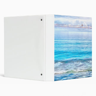 What a view of the ocean binder