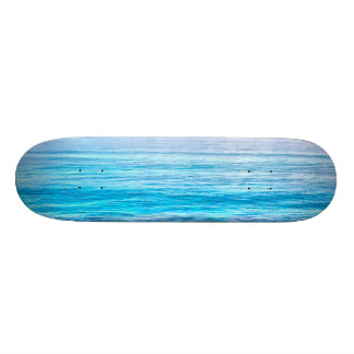What a view of the ocean skateboard