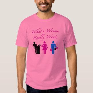What A Woman Wants Shirt