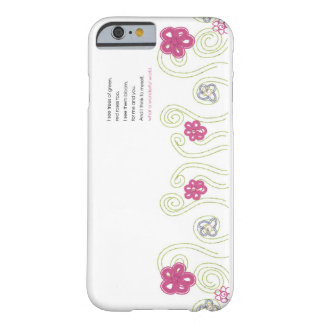 what a wonderful world iphone6 case barely there iPhone 6 case