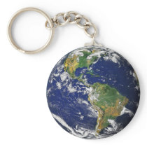 What a Wonderful World Keychain