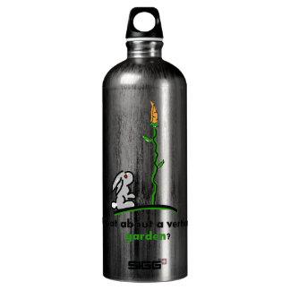 What about a vertical garden? aluminum water bottle
