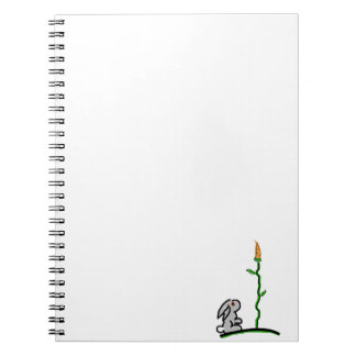 What about a vertical garden? note[ad spiral notebook