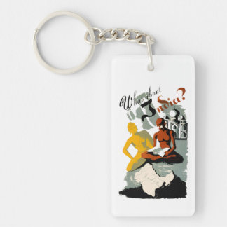 What About India? Keychain