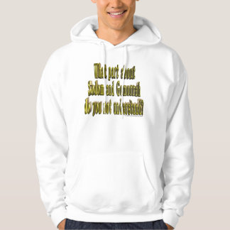 What about Sodom & Gomorrah do you not understand? Hoodie
