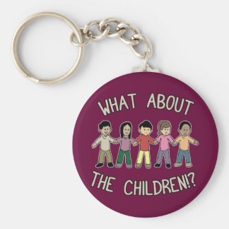 What About The Children Keychain