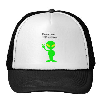What Aliens are Thinking Cartoon Hat
